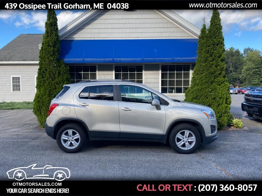 Used Chevrolet Trax AWD 4dr LT 2016   Ossipee Trail Motor Sales. Gorham, Maine