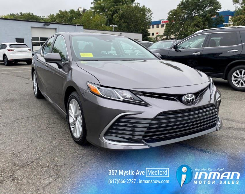 Used Toyota Camry LE Auto (Natl) 2021 | Inman Motors Sales. Medford, Massachusetts