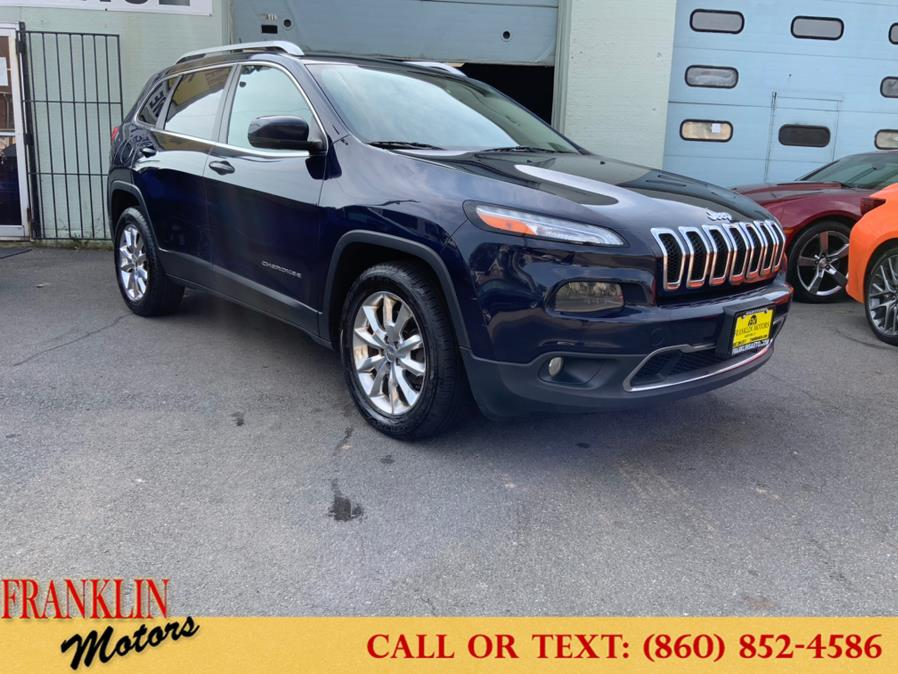 Used Jeep Cherokee 4WD 4dr Limited 2015 | Franklin Motors Auto Sales LLC. Hartford, Connecticut