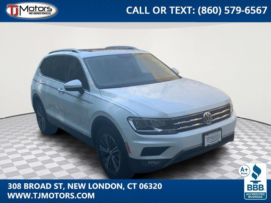 Used 2018 Volkswagen Tiguan in New London, Connecticut | TJ Motors. New London, Connecticut