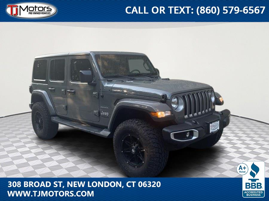 Used Jeep Wrangler Unlimited Sahara 4x4 2020   TJ Motors. New London, Connecticut
