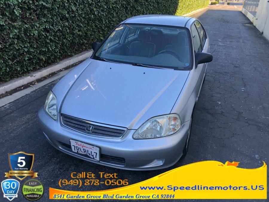 Used Honda Civic 4dr Sdn VP Auto 1999 | Speedline Motors. Garden Grove, California
