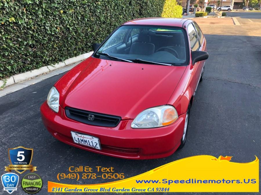 Used 1998 Honda Civic in Garden Grove, California   Speedline Motors. Garden Grove, California