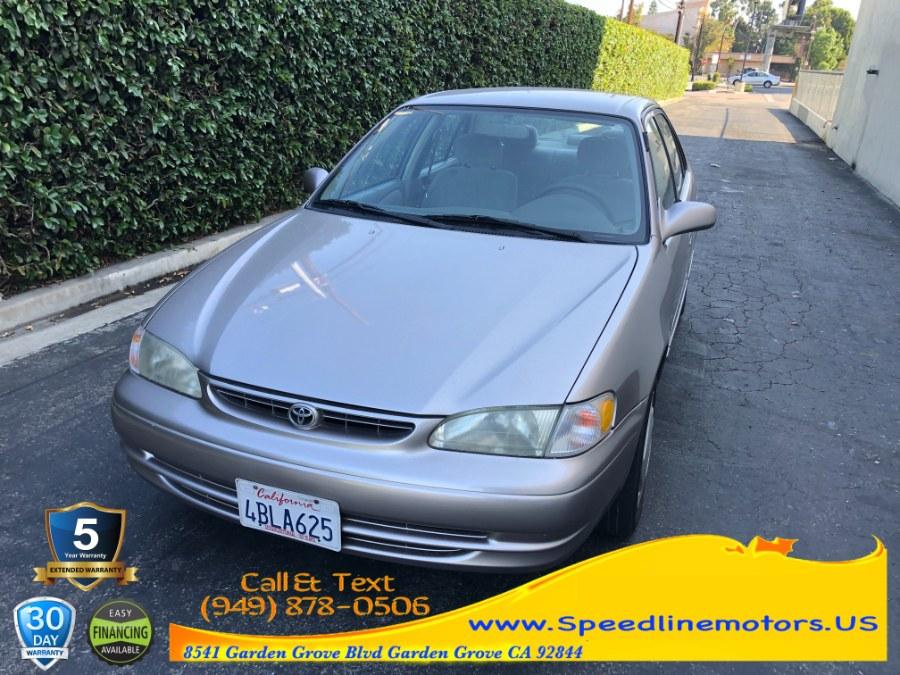 Used 1998 Toyota Corolla in Garden Grove, California   Speedline Motors. Garden Grove, California