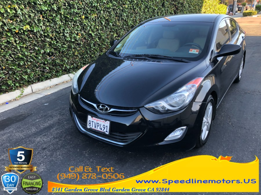Used 2013 Hyundai Elantra in Garden Grove, California   Speedline Motors. Garden Grove, California