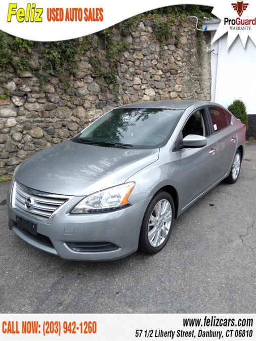 Used 2013 Nissan Sentra in Danbury, Connecticut | Feliz Used Auto Sales. Danbury, Connecticut