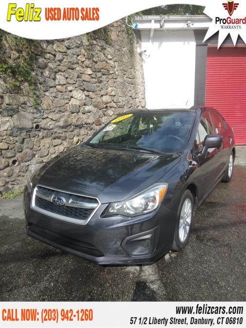 Used Subaru Impreza Sedan 4dr Man 2.0i Premium 2012 | Feliz Used Auto Sales. Danbury, Connecticut