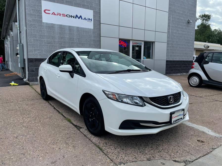 Used Honda Civic Sedan 4dr CVT LX 2015   Carsonmain LLC. Manchester, Connecticut