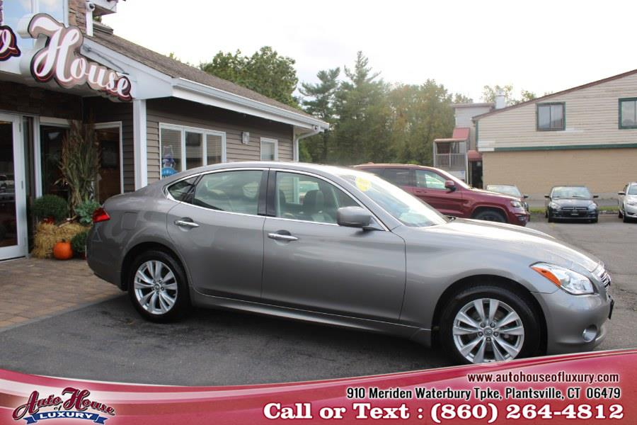 Used Infiniti M37 4dr Sdn AWD 2011   Auto House of Luxury. Plantsville, Connecticut
