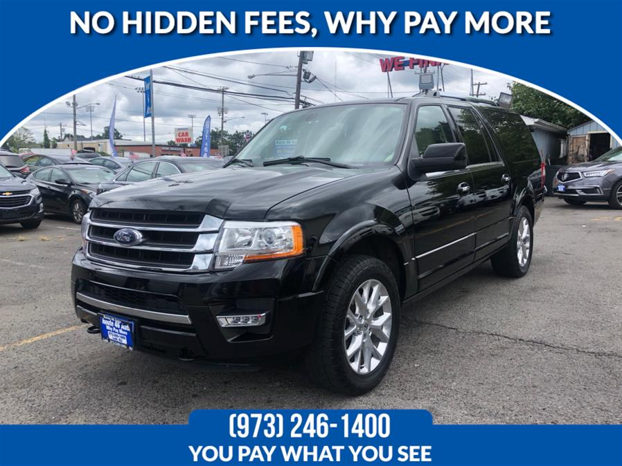 Used Ford Expedition EL Limited 4x4 2017 | Route 46 Auto Sales Inc. Lodi, New Jersey