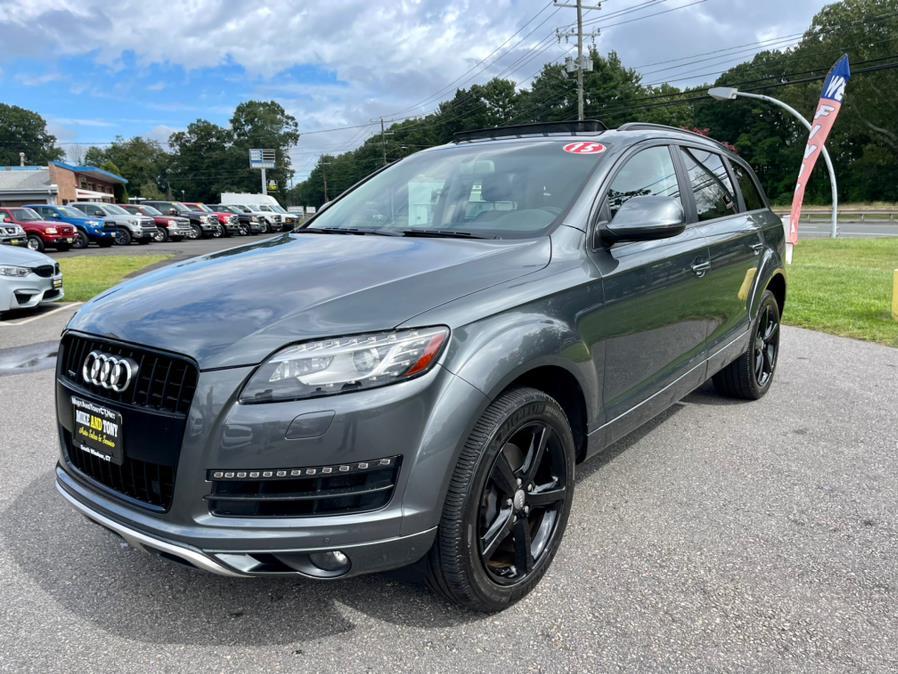 Used Audi Q7 quattro 4dr 3.0T Premium Plus 2015   Mike And Tony Auto Sales, Inc. South Windsor, Connecticut