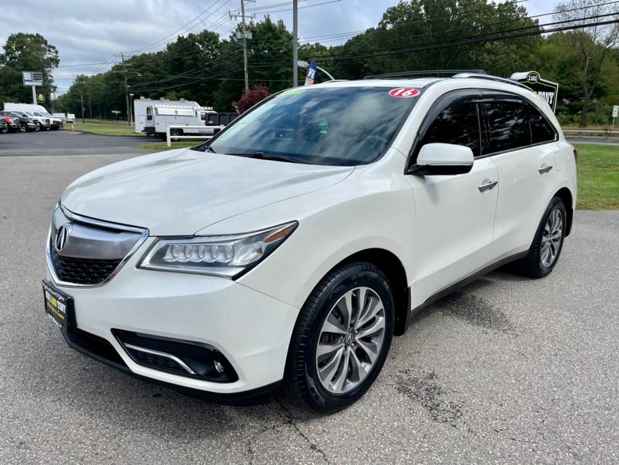 Used Acura MDX SH-AWD 4dr 2016 | Mike And Tony Auto Sales, Inc. South Windsor, Connecticut