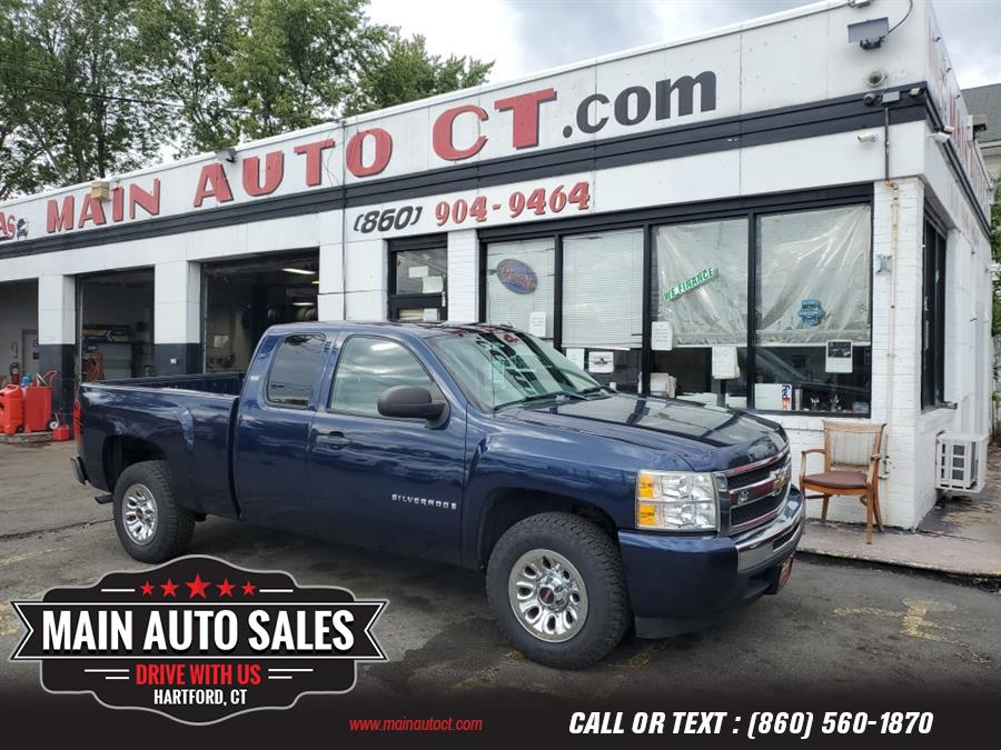 "Used Chevrolet Silverado 1500 2WD Ext Cab 143.5"" Work Truck 2009   Main Auto Sales LLC. Hartford, Connecticut"