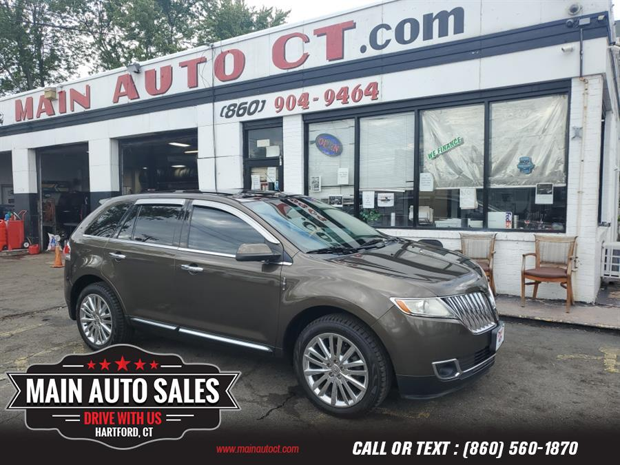 Used Lincoln MKX AWD 4dr 2011   Main Auto Sales LLC. Hartford, Connecticut
