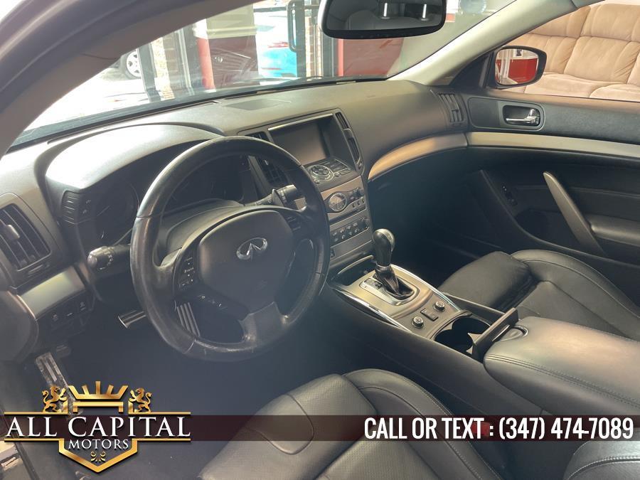 Used Infiniti G37 Coupe 2dr x AWD 2012   All Capital Motors. Brooklyn, New York