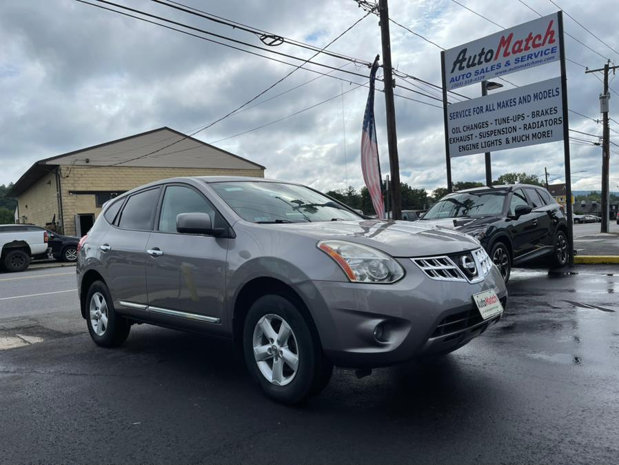 2013 Nissan Rogue AWD 4dr S, available for sale in Waterbury, CT