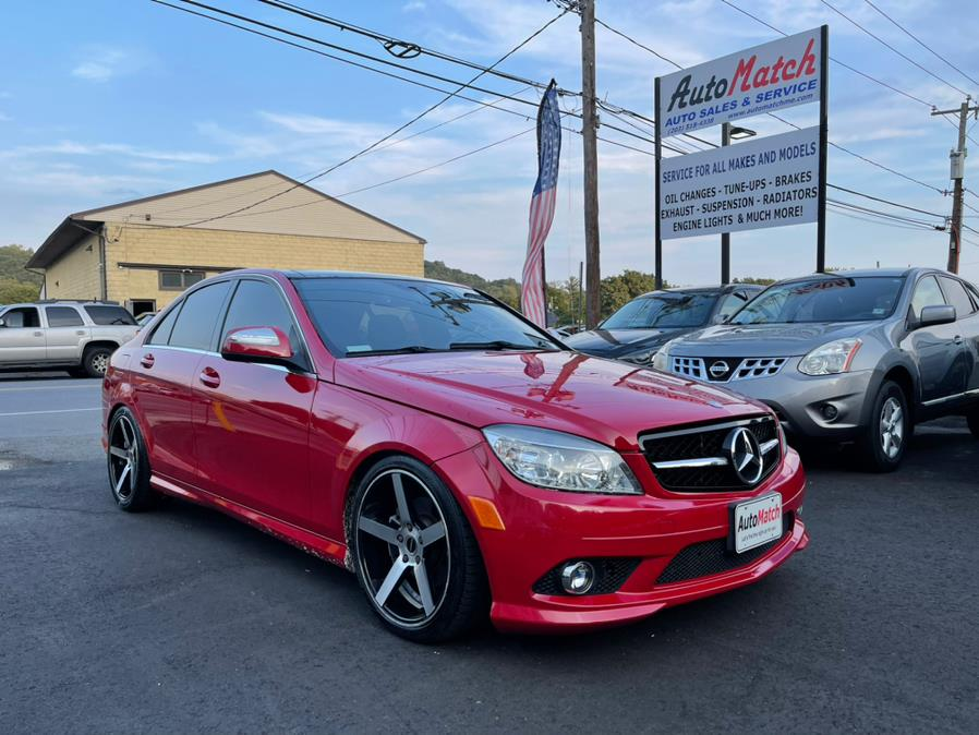 Used Mercedes-Benz C-Class 4dr Sdn 3.0L Luxury 4MATIC 2008 | Auto Match LLC. Waterbury, Connecticut