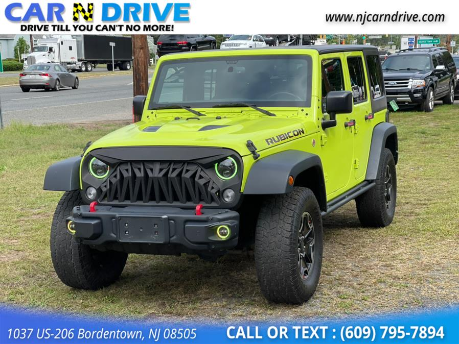 Used Jeep Wrangler Unlimited Rubicon 4WD 2016 | Car N Drive. Bordentown, New Jersey