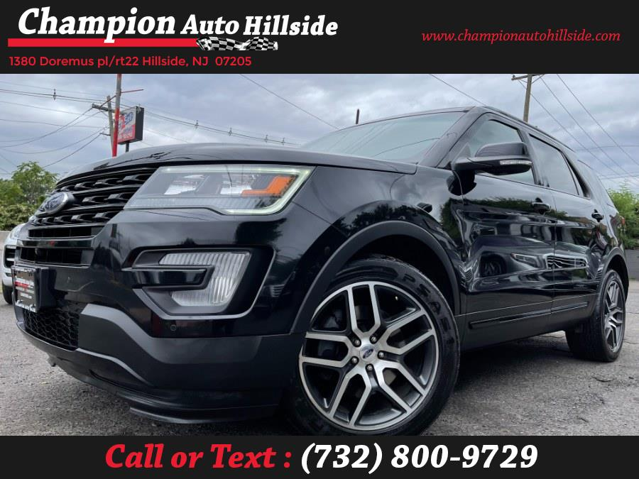 Used 2016 Ford Explorer in Hillside, New Jersey | Champion Auto Sales. Hillside, New Jersey