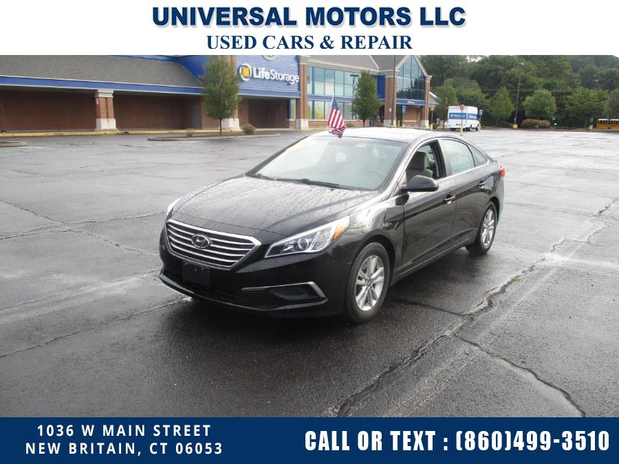Used Hyundai Sonata SE 2016 | Universal Motors LLC. New Britain, Connecticut