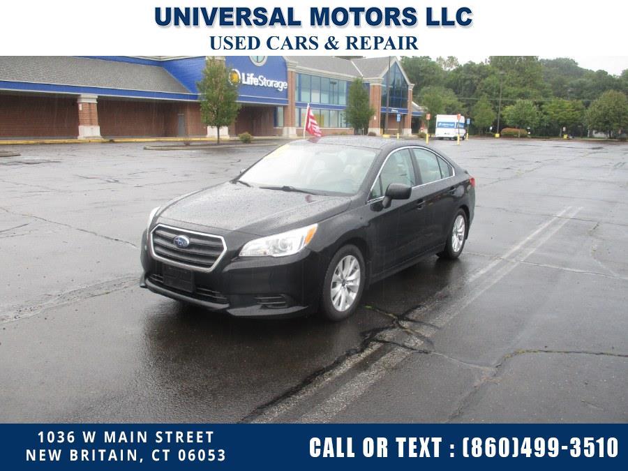 Used Subaru Legacy 2.5i 2017 | Universal Motors LLC. New Britain, Connecticut