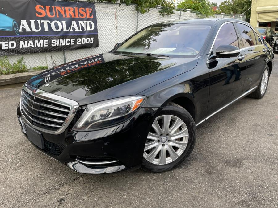 Used Mercedes-Benz S-Class 4dr Sdn S550 4MATIC 2015   Sunrise Autoland. Jamaica, New York