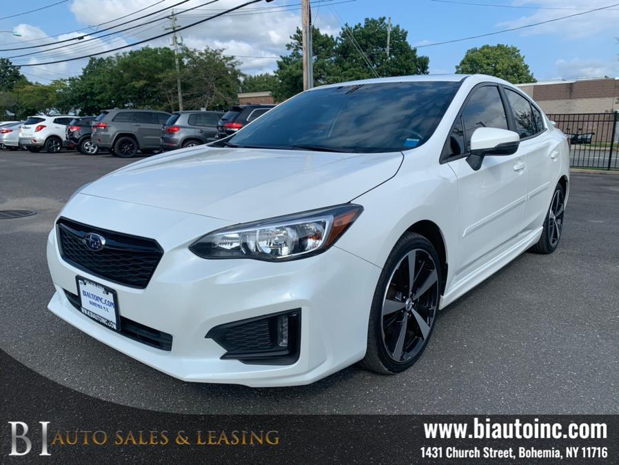 Used Subaru Impreza 2.0i Sport 4-door CVT 2018   B I Auto Sales. Bohemia, New York