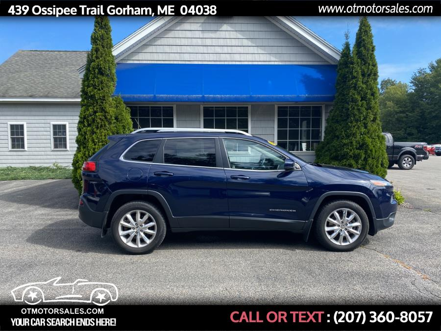 Used Jeep Cherokee 4WD 4dr Limited 2014   Ossipee Trail Motor Sales. Gorham, Maine