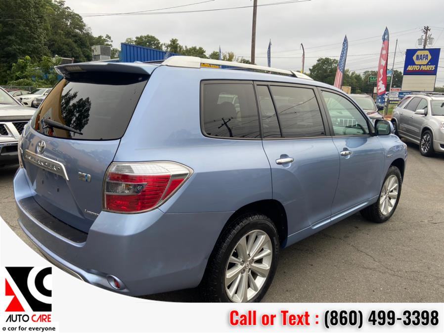 Used Toyota Highlander Hybrid 4WD 4dr Limited w/3rd Row (Natl) 2009 | Auto Care Motors. Vernon , Connecticut