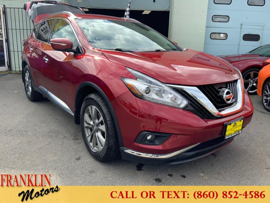 Used 2015 Nissan Murano in Hartford, Connecticut | Franklin Motors Auto Sales LLC. Hartford, Connecticut