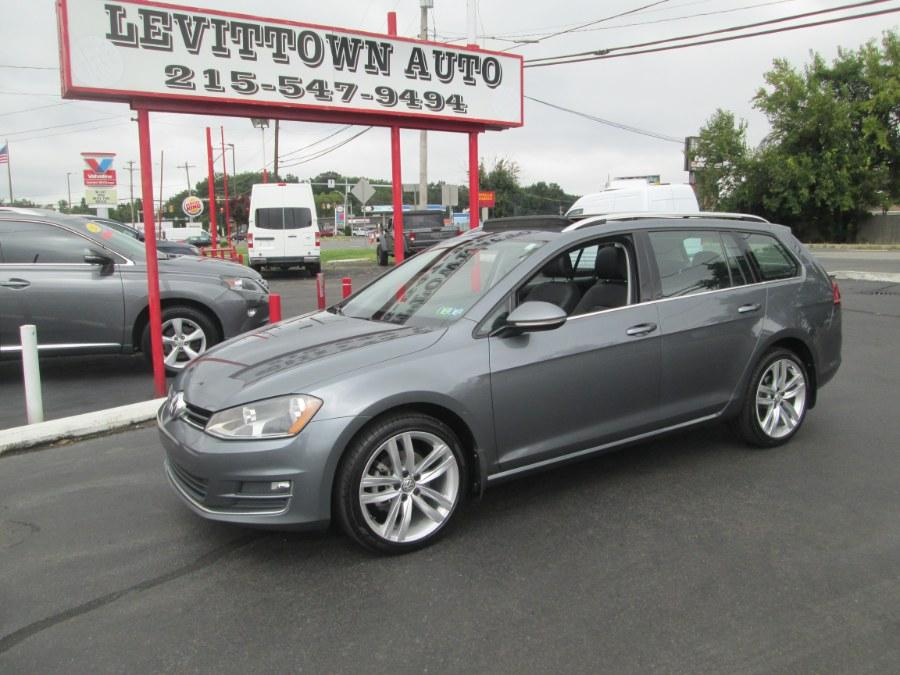 Used 2016 Volkswagen Golf SportWagen in Levittown, Pennsylvania | Levittown Auto. Levittown, Pennsylvania