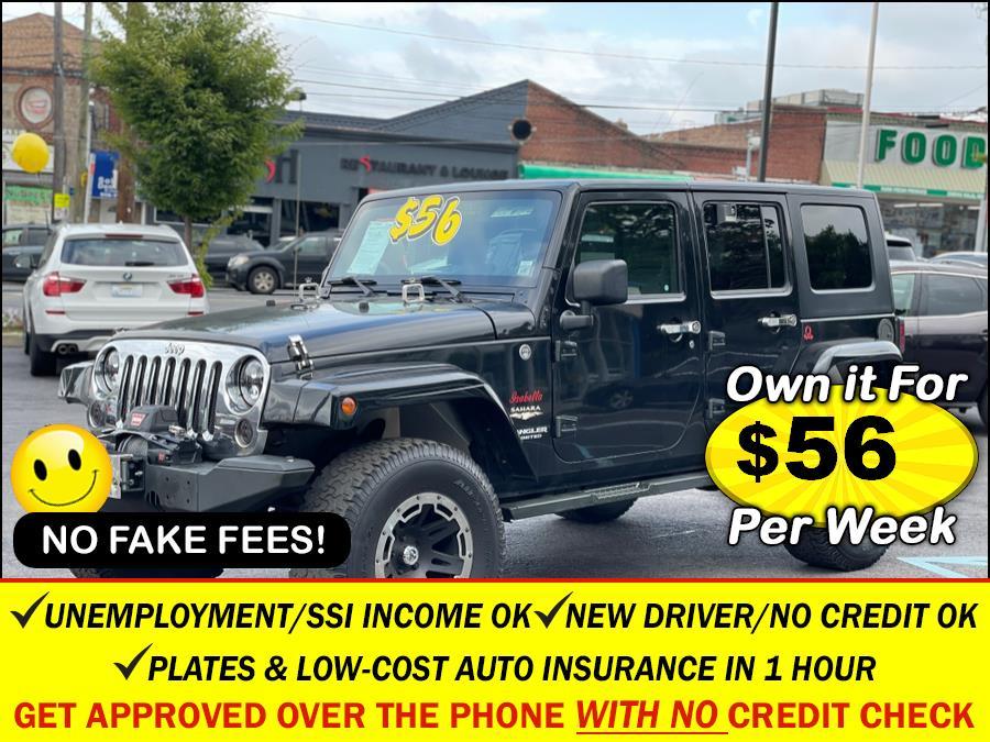 Used Jeep Wrangler 4WD 4dr Unlimited Sahara 2008   Sunrise Auto Sales. Rosedale, New York