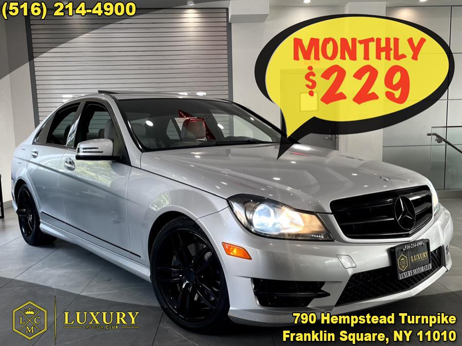 Used Mercedes-Benz C-Class 4dr Sdn C300 Sport 4MATIC 2014   Luxury Motor Club. Franklin Square, New York