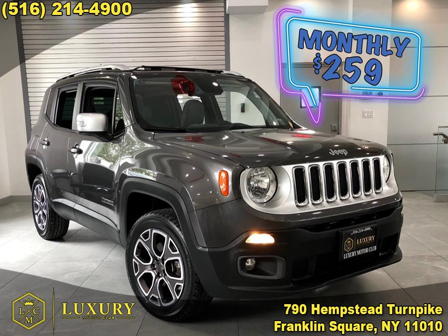 Used Jeep Renegade Limited 4x4 2018 | Luxury Motor Club. Franklin Square, New York