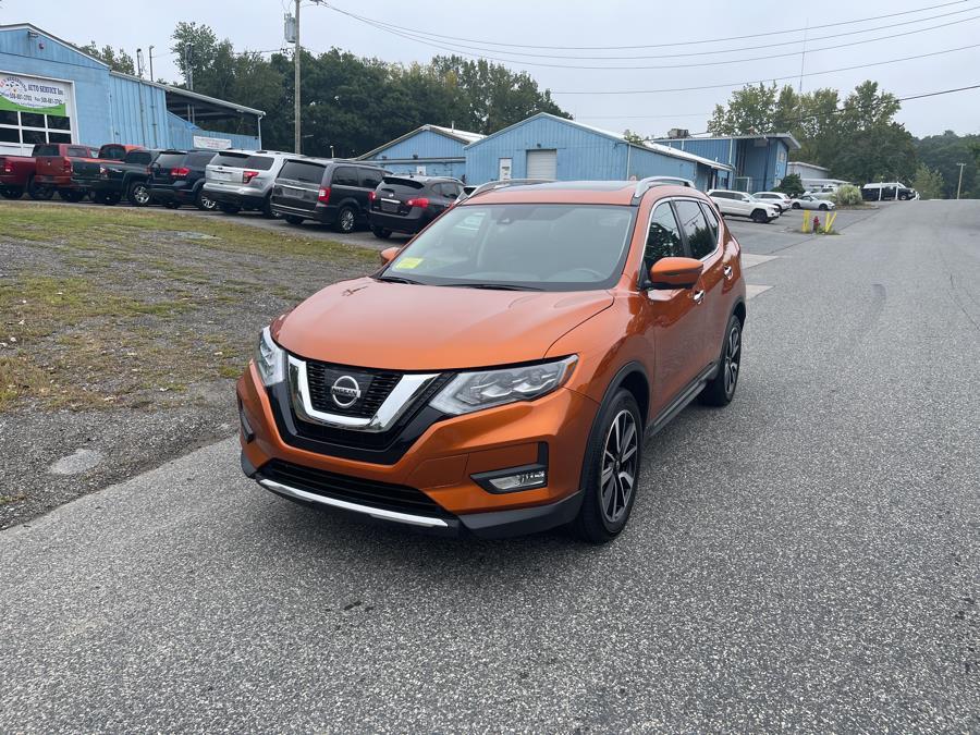 Used Nissan Rogue AWD SV 2017 | New Beginning Auto Service Inc . Ashland , Massachusetts