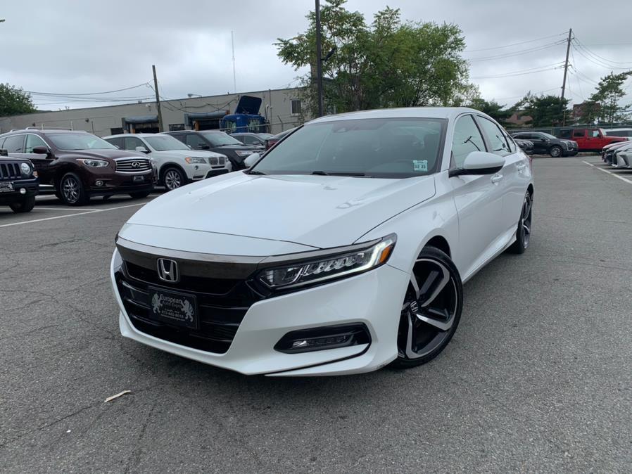 Used Honda Accord Sedan Sport 1.5T CVT 2018 | European Auto Expo. Lodi, New Jersey