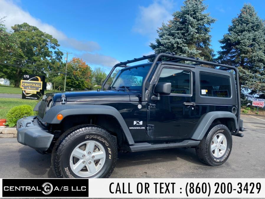 Used Jeep Wrangler 4WD 2dr X 2007 | Central A/S LLC. East Windsor, Connecticut