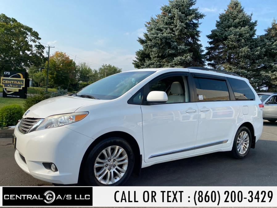 Used Toyota Sienna 5dr 7-Pass Van V6 XLE FWD (Natl) 2012 | Central A/S LLC. East Windsor, Connecticut