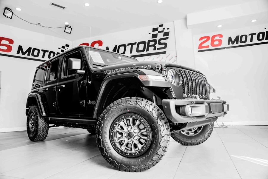 Used Jeep Wrangler Unlimited Rubicon 392 4x4 2021   26 Motors Corp. Bronx, New York