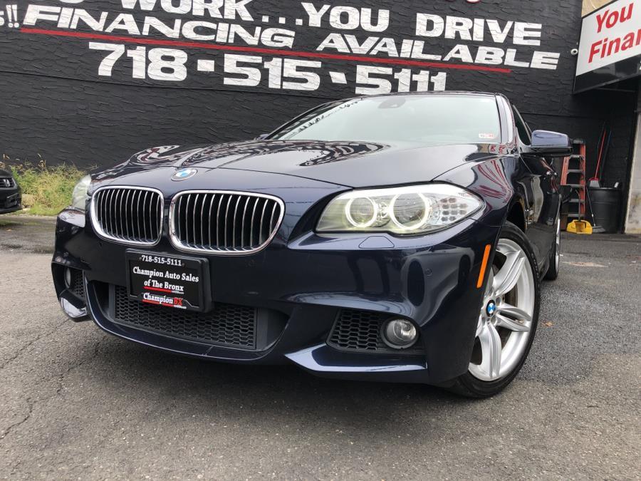 Used 2012 BMW 5 Series in Bronx, New York | Champion Auto Sales Of The Bronx. Bronx, New York