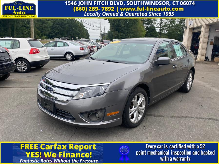 Used 2012 Ford Fusion in South Windsor , Connecticut | Ful-line Auto LLC. South Windsor , Connecticut