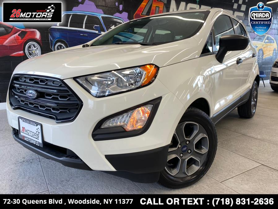 Used Ford EcoSport S FWD 2020 | 26 Motors Queens. Woodside, New York