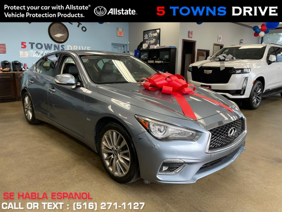 Used INFINITI Q50 3.0t LUXE AWD 2018   5 Towns Drive. Inwood, New York
