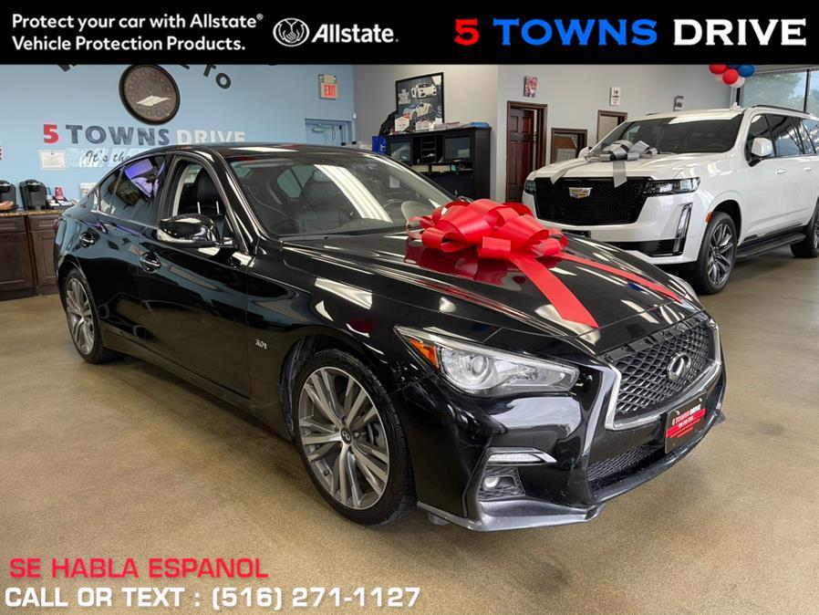 Used INFINITI Q50 3.0t SPORT 2018   5 Towns Drive. Inwood, New York
