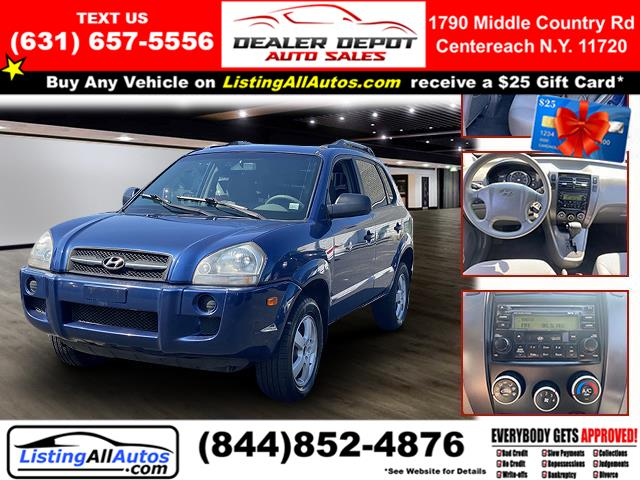 Used 2007 Hyundai Tucson in Patchogue, New York | www.ListingAllAutos.com. Patchogue, New York