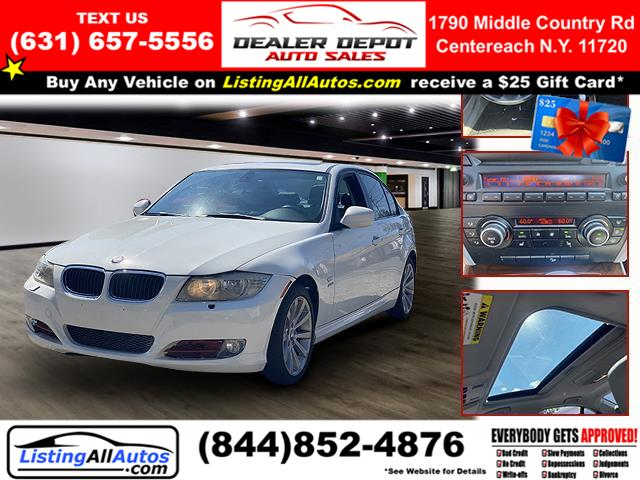 Used 2011 BMW 3 Series in Patchogue, New York   www.ListingAllAutos.com. Patchogue, New York