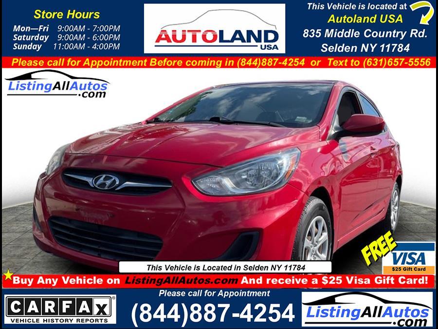 Used Hyundai Accent  2012 | www.ListingAllAutos.com. Patchogue, New York