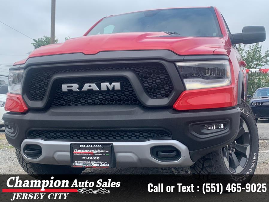 "Used Ram 1500 Rebel 4x4 Crew Cab 5''7"" Box 2019   Champion Auto Sales of JC. Jersey City, New Jersey"
