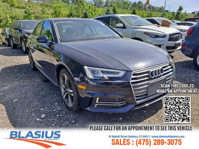 Used Audi A4 2.0T Premium Plus 2018 | Blasius Federal Road. Brookfield, Connecticut