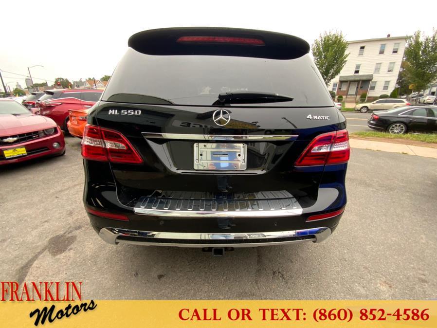 Used Mercedes-Benz M-Class 4MATIC 4dr ML 550 2014   Franklin Motors Auto Sales LLC. Hartford, Connecticut